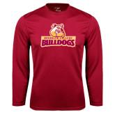 Performance Cardinal Longsleeve Shirt-Brooklyn College Athletic Mark