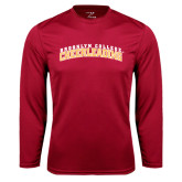Performance Cardinal Longsleeve Shirt-Cheerleading