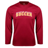 Performance Cardinal Longsleeve Shirt-Soccer