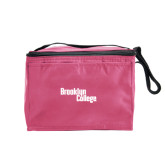 Six Pack Pink Cooler-Brooklyn College