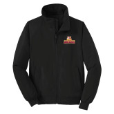 Black Charger Jacket-Brooklyn College Athletic Mark