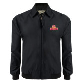 Black Players Jacket-Brooklyn College Athletic Mark