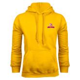 Gold Fleece Hoodie-Brooklyn College Athletic Mark