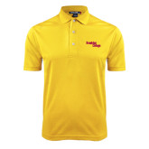 Gold Dry Mesh Polo-Brooklyn College