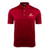 Cardinal Dry Mesh Polo-Brooklyn College Athletic Mark