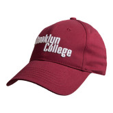 Maroon Heavyweight Twill Pro Style Hat-Brooklyn College