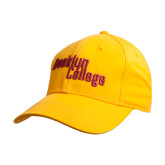 Gold Heavyweight Twill Pro Style Hat-Brooklyn College