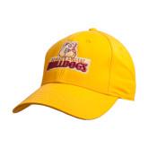 Gold Heavyweight Twill Pro Style Hat-Brooklyn College Athletic Mark