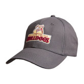 Charcoal Heavyweight Twill Pro Style Hat-Brooklyn College Athletic Mark