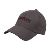Charcoal Heavyweight Twill Pro Style Hat-Brooklyn College Arched