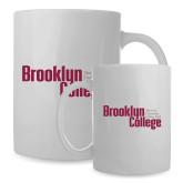 Full Color White Mug 15oz-Brooklyn College