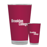 Full Color Glass 17oz-Brooklyn College