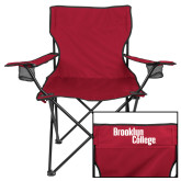 Deluxe Cardinal Captains Chair-Brooklyn College