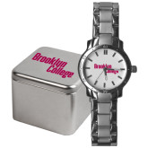 Mens Stainless Steel Fashion Watch-Brooklyn College