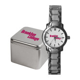 Ladies Stainless Steel Fashion Watch-Brooklyn College