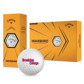 Callaway Warbird Golf Balls 12/pkg-Brooklyn College