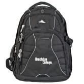 High Sierra Swerve Black Compu Backpack-Brooklyn College