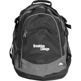 High Sierra Black Titan Day Pack-Brooklyn College