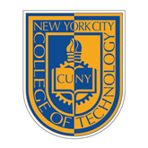 Medium Decal-CUNY Shield, 8 inches tall