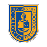 Small Decal-CUNY Shield, 6 inches tall