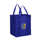 Non Woven Royal Grocery Tote-CUNY Shield