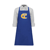 City College of Technology  Full Length Royal Apron-Official Logo