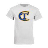 City College of Technology  White T Shirt-Official Logo