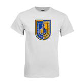 City College of Technology  White T Shirt-CUNY Shield