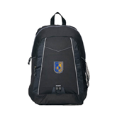 Impulse Black Backpack-CUNY Shield