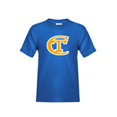 City College of Technology  Youth Royal T Shirt-Official Logo