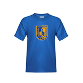 City College of Technology  Youth Royal T Shirt-CUNY Shield