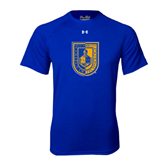 Under Armour Royal Tech Tee-CUNY Shield