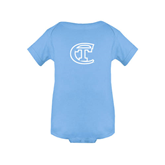 City College of Technology  Light Blue Infant Onesie-Official Logo