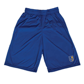 City College of Technology  Russell Performance Royal 10 Inch Short w/Pockets-CUNY Shield