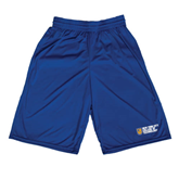 City College of Technology  Russell Performance Royal 10 Inch Short w/Pockets-New York City College Of Technology w/ Shield