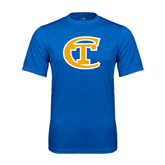 City College of Technology  Performance Royal Tee-Official Logo