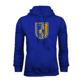 City College of Technology  Royal Fleece Hoodie-CUNY Shield
