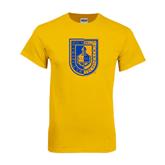Gold T Shirt-CUNY Shield