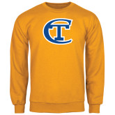 City College of Technology  Gold Fleece Crew-Official Logo