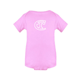 City College of Technology  Light Pink Infant Onesie-Official Logo