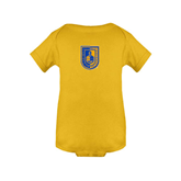 City College of Technology  Gold Infant Onesie-CUNY Shield
