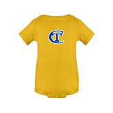 City College of Technology  Gold Infant Onesie-Official Logo