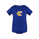 City College of Technology  Royal Infant Onesie-Official Logo