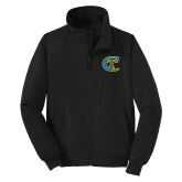 City College of Technology  Black Charger Jacket-Official Logo