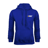 City College of Technology  Royal Fleece Hoodie-New York City College Of Technology w/ Shield