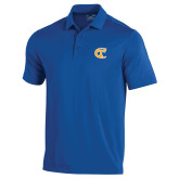 City College of Technology  Under Armour Royal Performance Polo-Official Logo