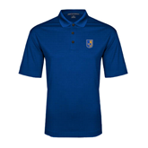 City College of Technology  Royal Performance Fine Jacquard Polo-CUNY Shield