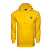 City College of Technology  Under Armour Gold Performance Sweats Team Hoodie-Official Logo