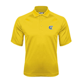 City College of Technology  Gold Dri Mesh Pro Polo-Official Logo