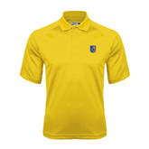 City College of Technology  Gold Dri Mesh Pro Polo-CUNY Shield